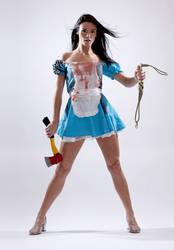 Dani L Bloody Alice 1a by jagged-eye