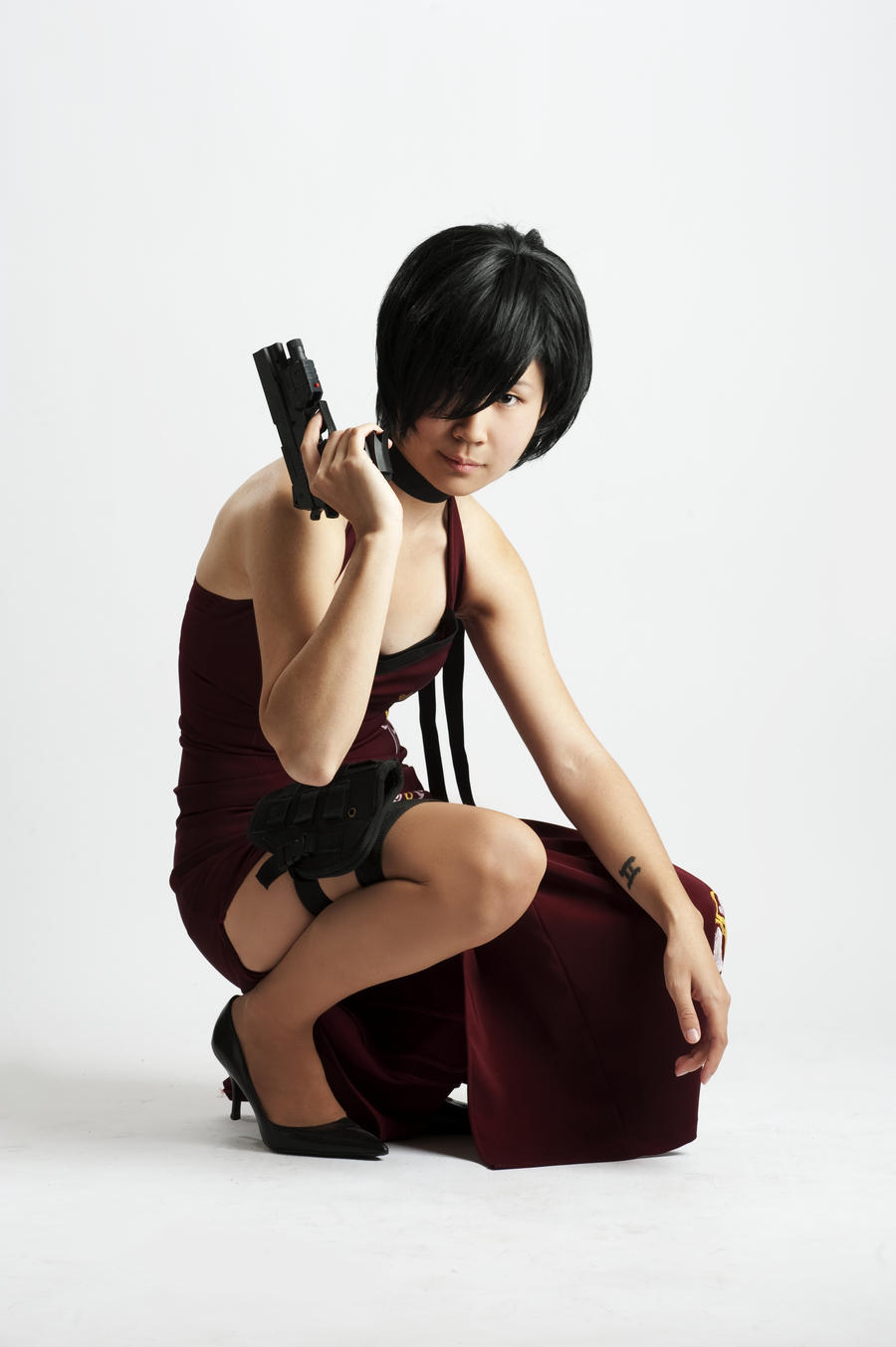 Ada Wong Re-Done 2a by jagged-eye