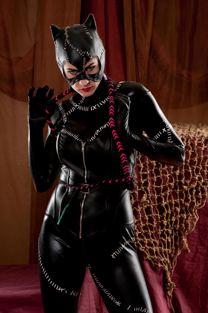 Niki nix Catwoman 2a by jagged-eye