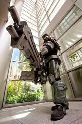 Halo Spartan 1a by jagged-eye