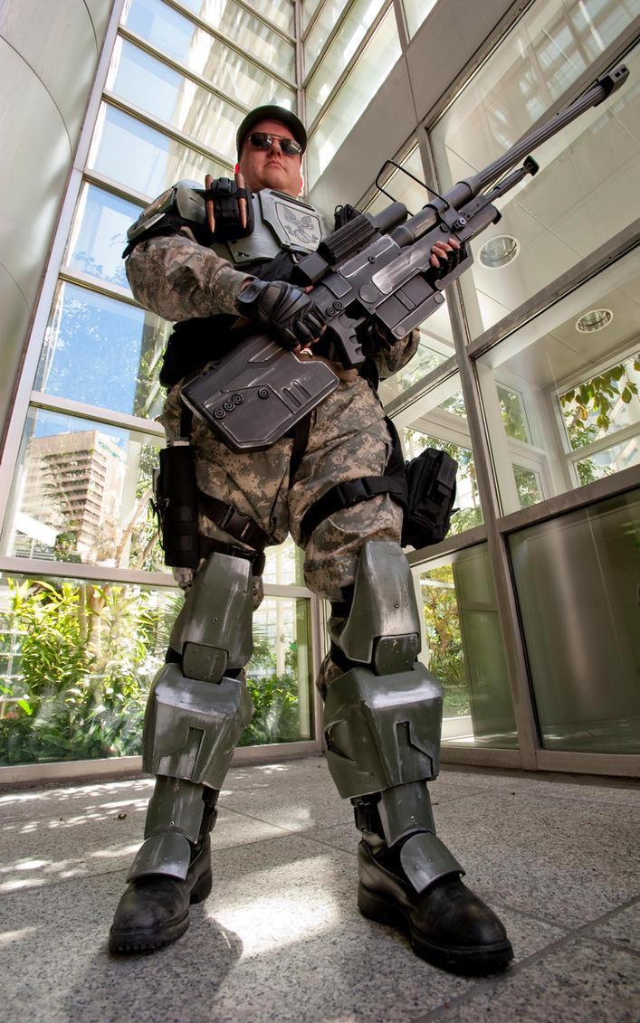Halo Marine 3a by jagged-eye