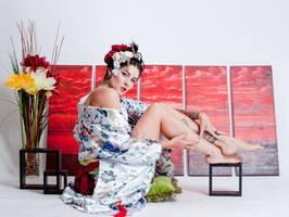Niki Geisha Girl 1a by jagged-eye