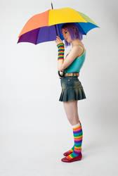Starry Umbrella 1a by jagged-eye