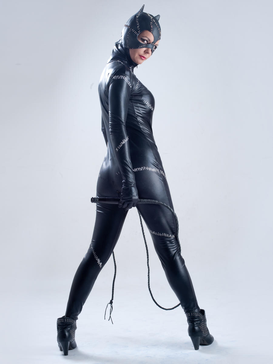 Daphne Catwoman 1a by jagged-eye