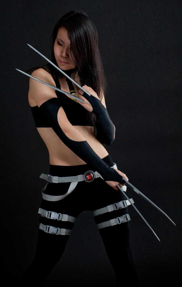 Izy X-23 by jagged-eye