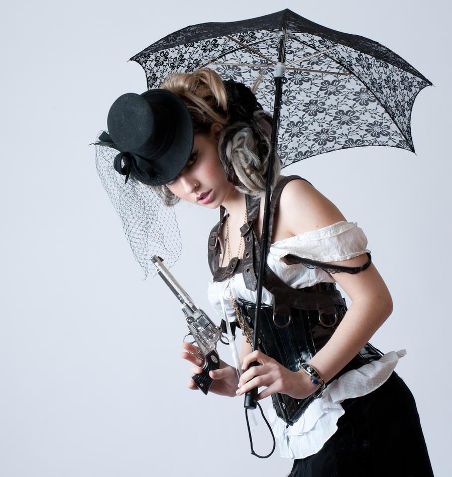 Nicole Steampunk 2a by jagged-eye