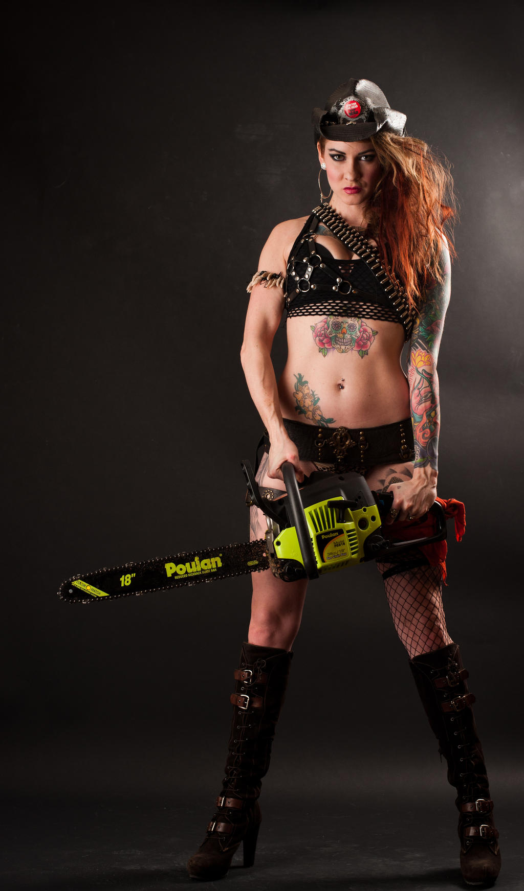 Niki Mad Max 2a by jagged-eye