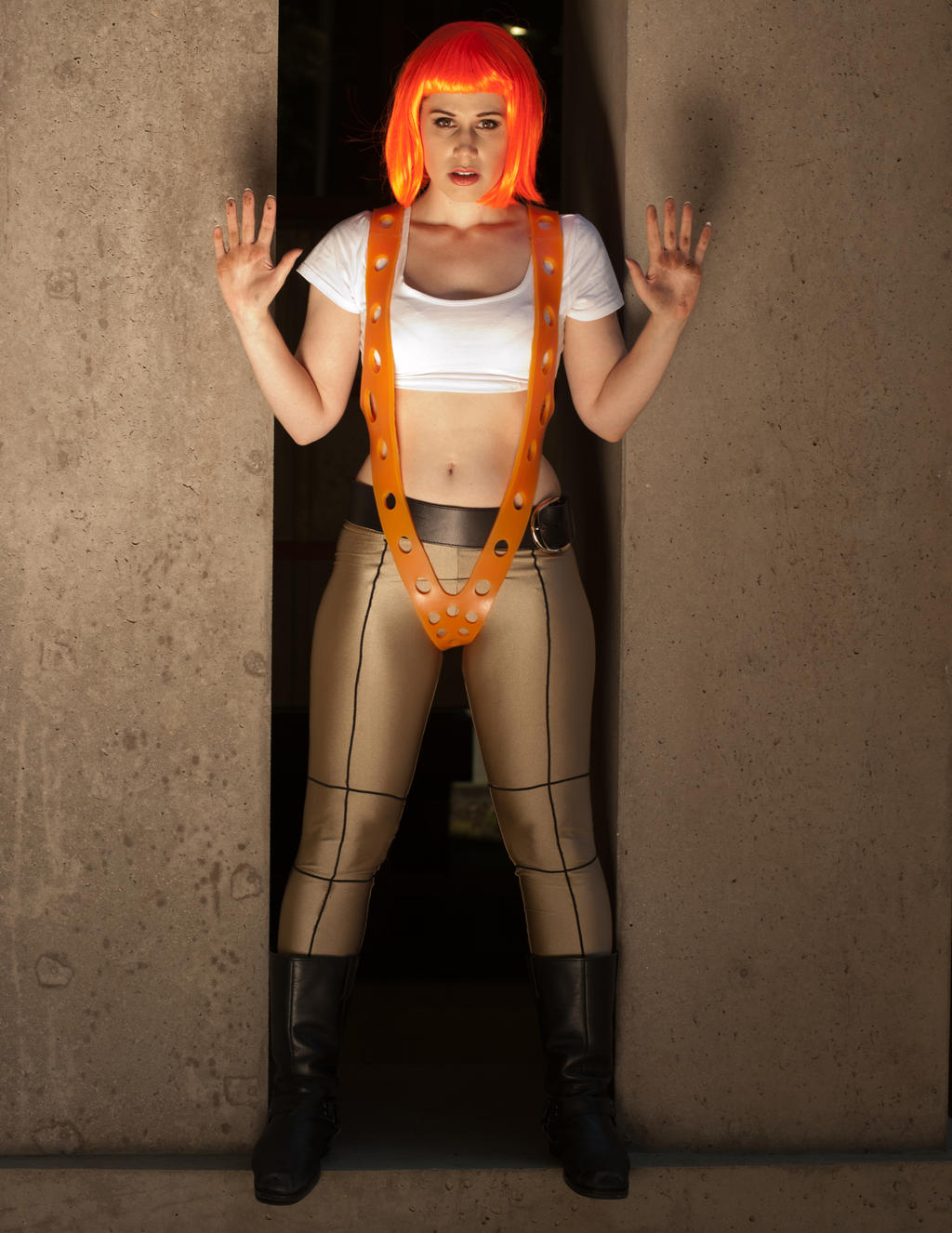Jacqueline Leeloo 2a by jagged-eye
