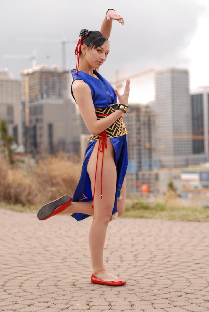 Vanessa Chun Li Alternative 9a by jagged-eye