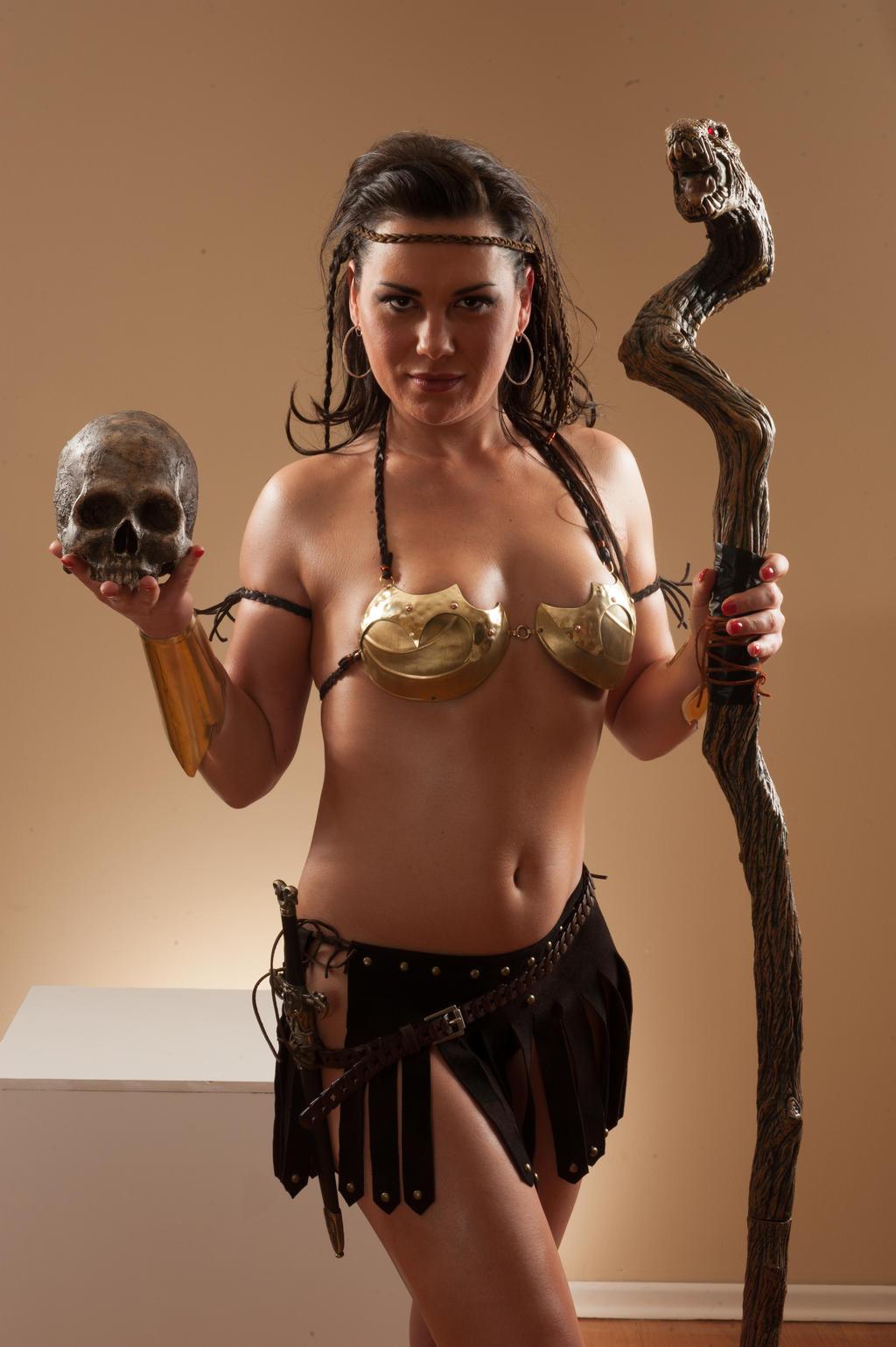 Nelli Warrior-3925 by jagged-eye
