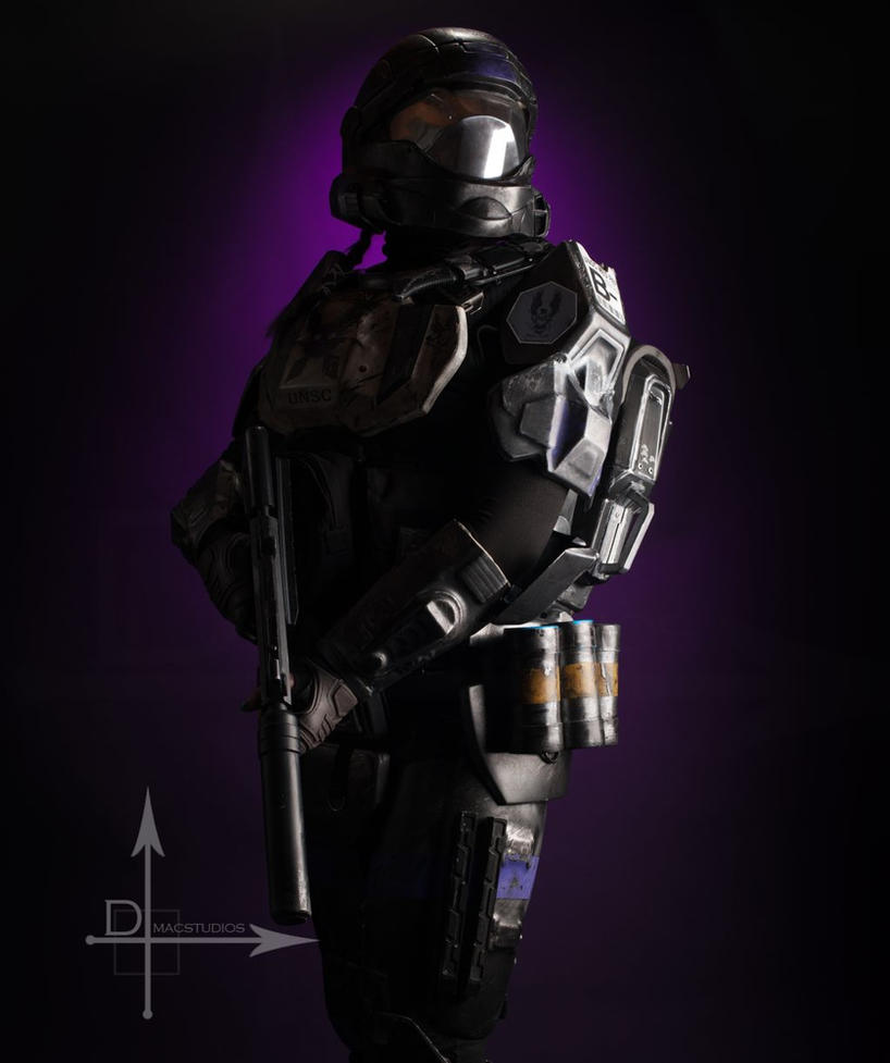 Warriors Come Out To Play Youtube: Fantasy Warrior 1a 2014 ODST By Jagged-eye On DeviantArt