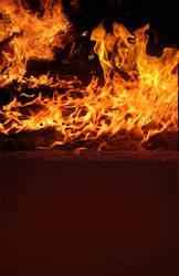 Burning Fire BG 003 by jagged-eye