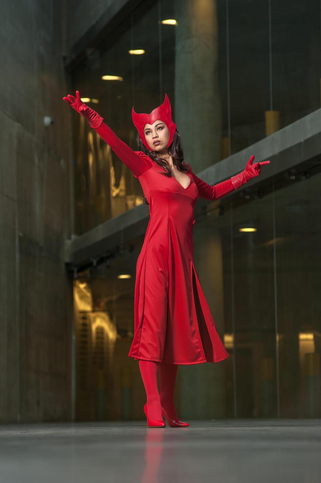 Vanessa Scarlet Witch 1a By Jagged Eye On Deviantart
