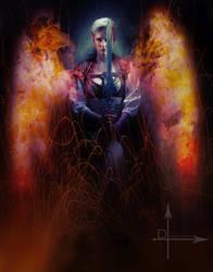 Sooki the Sorceress by jagged-eye