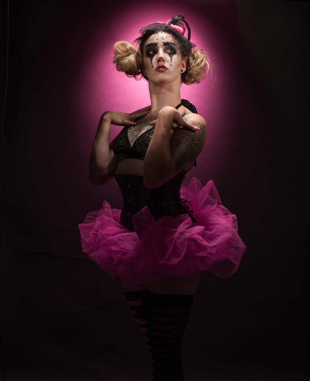 Danailya Clown 001 by jagged-eye