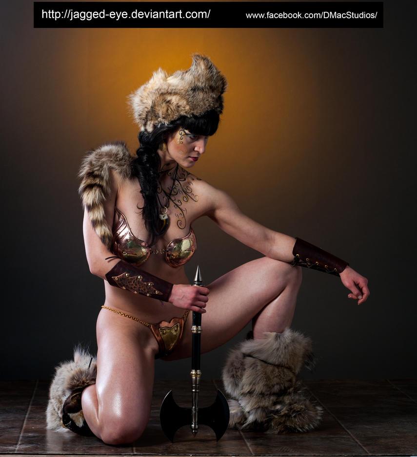 中世纪女武士写真 - ★  牧笛  ★ - ★★★ 世界数码艺术博览★★★