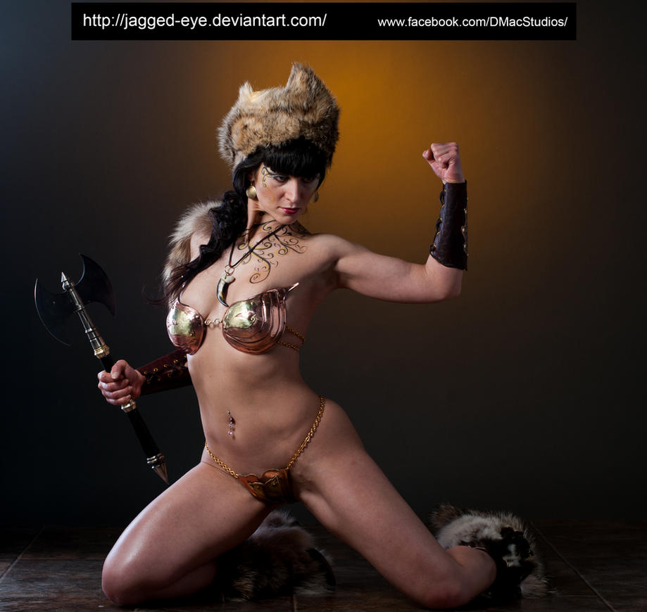 Tatiana Warrior-141 by jagged-eye