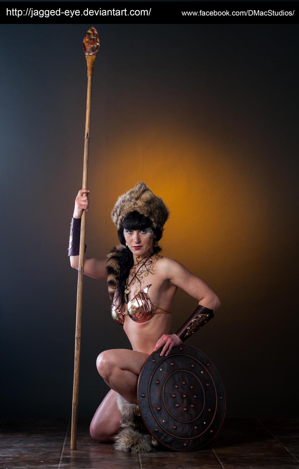 Tatiana Warrior-175 by jagged-eye