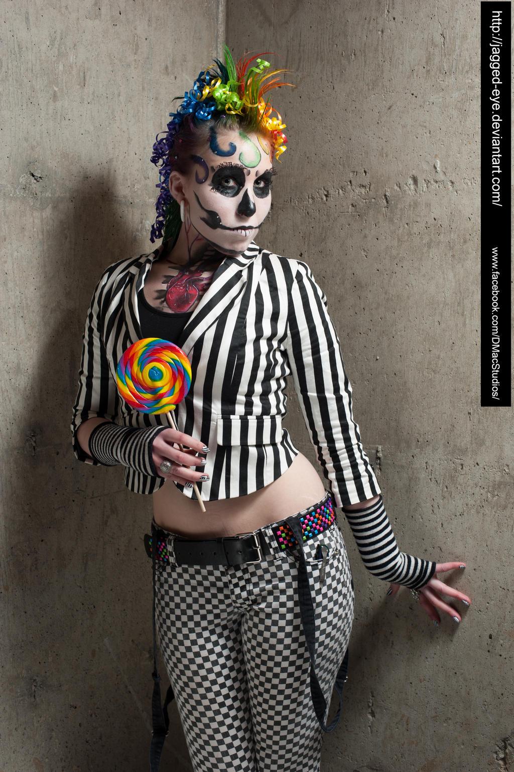 Jodi Candy Clown 1167 By Jagged Eye