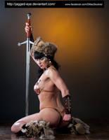 Tatiana Warrior-199 by jagged-eye