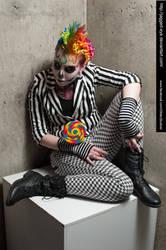Jodi Candy Clown-1202 by jagged-eye
