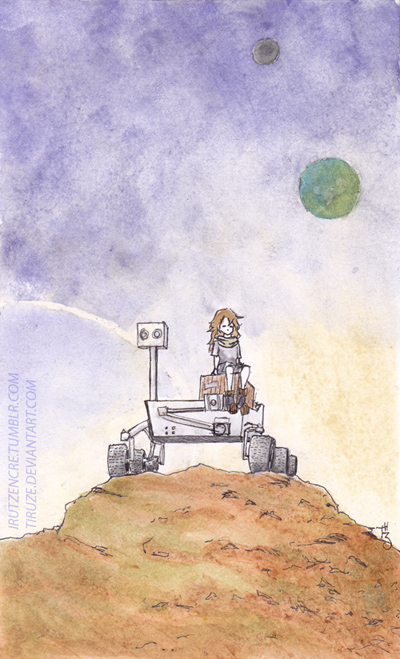 Space Rover by Tiruze
