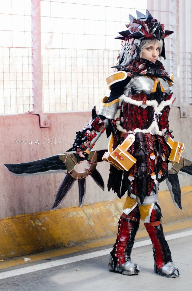 Rathalos Monster Hunter by KICKAcosplay