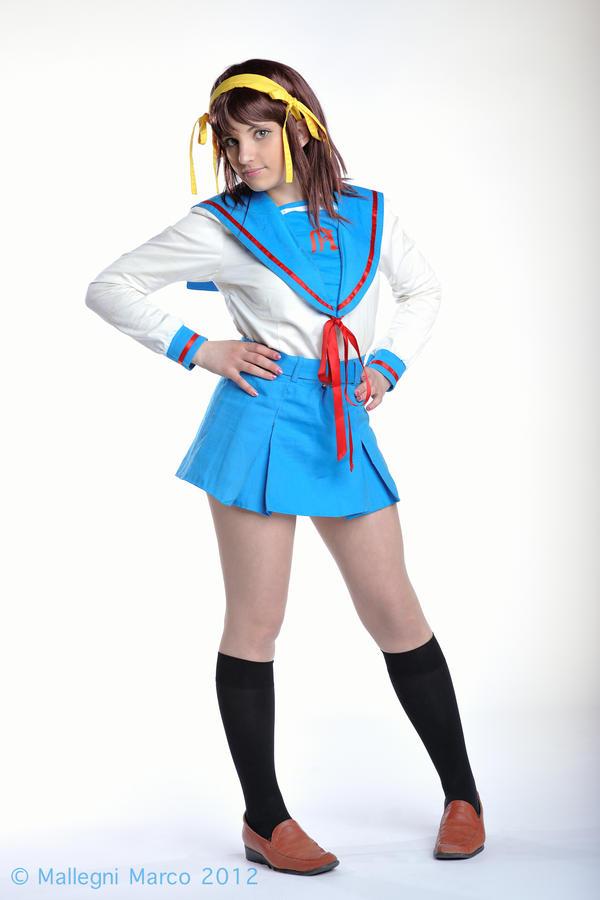 Haruhi Suzumiya Cosplay by KICKAcosplay