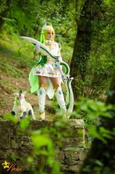 Rena Grand Archer cosplay by KICKAcosplay