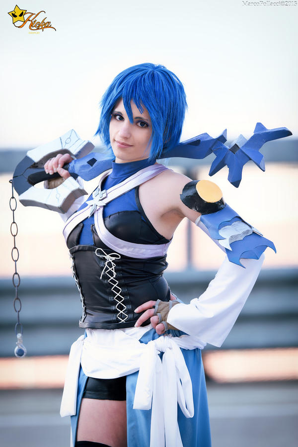 Kingdom Hearts Birth By Sleep _ Aqua Cosplay by KICKAcosplay