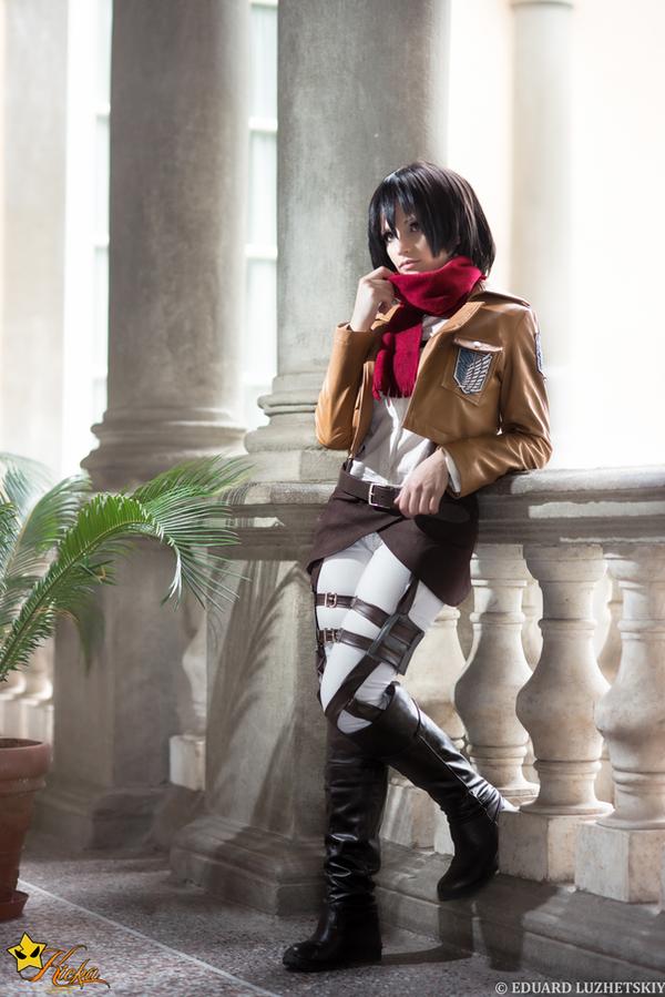 Mikasa Ackerman Cosplay by KICKAcosplay