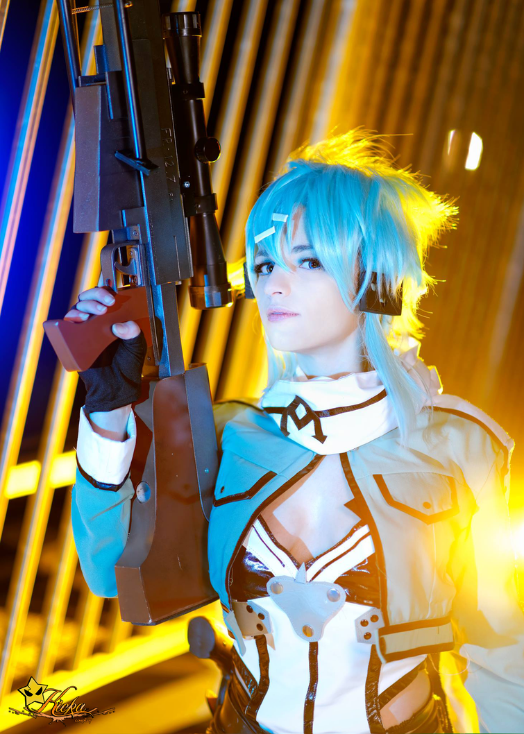 Sinon Sword Art Online Cosplay by KICKAcosplay