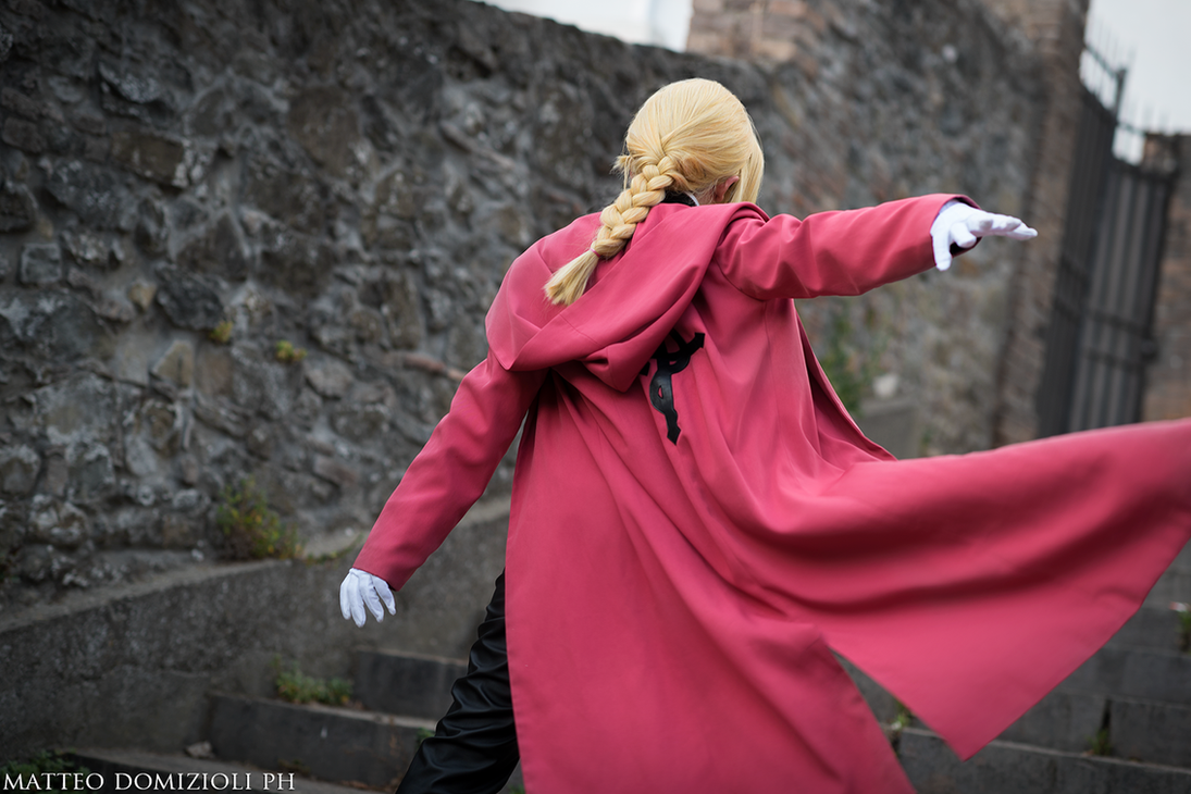 Edward Elric Cosplay by KICKAcosplay