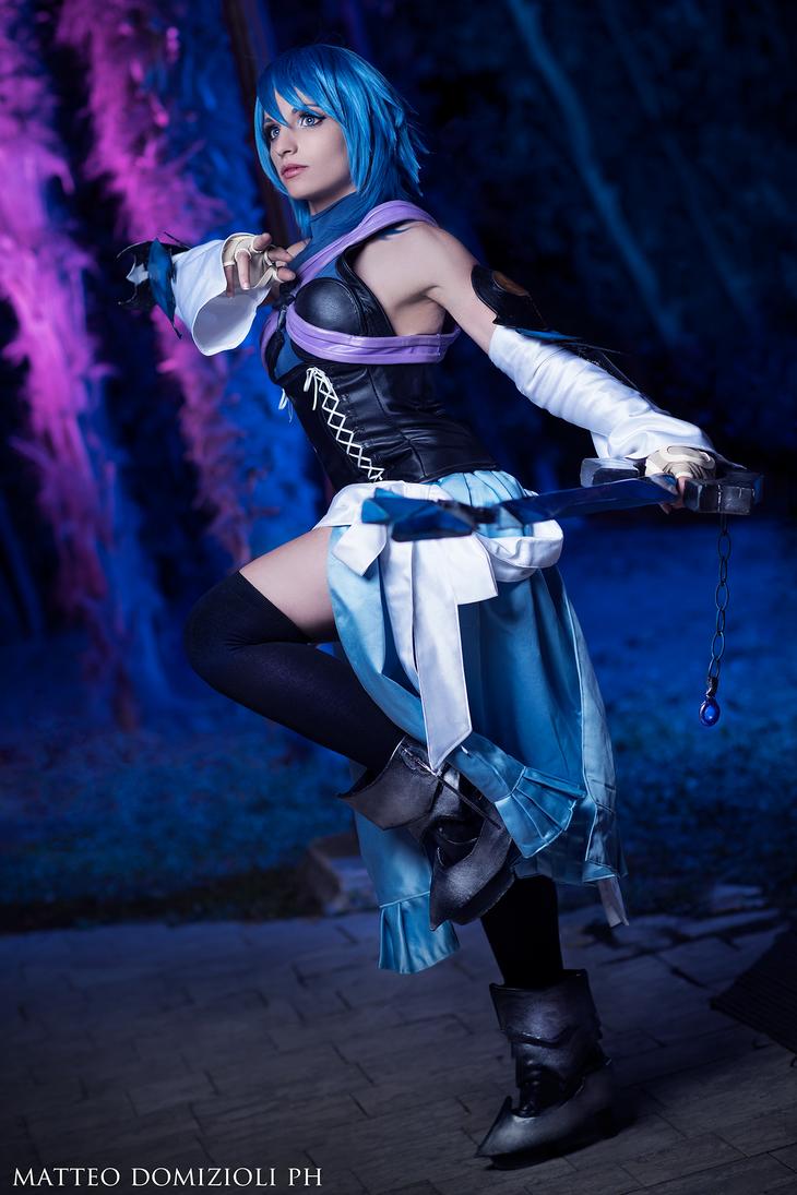 Aqua cosplay by KICKAcosplay
