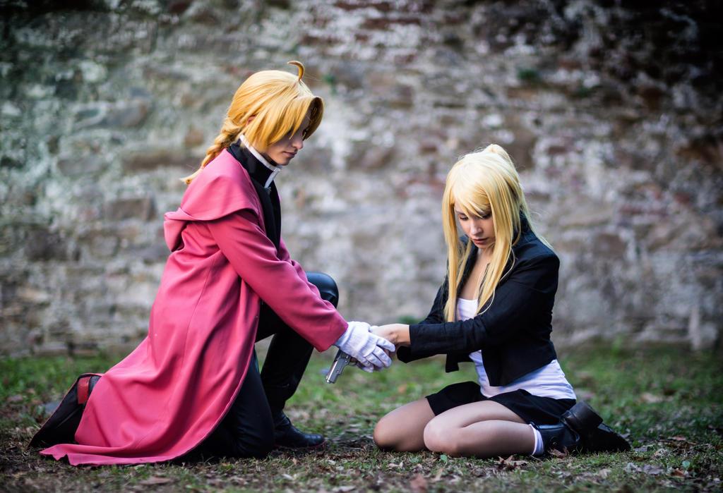 Edward and Winry cosplay by KICKAcosplay