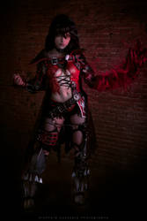Velvet Crowe cosplay by KICKAcosplay