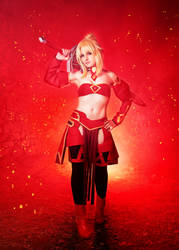 Mordred - Fate Cosplay