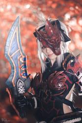 Odogaron armor Monster Hunter cosplay