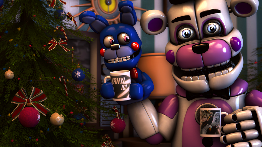FNAF SFM] Merry Christmas! by MangoISeI on DeviantArt