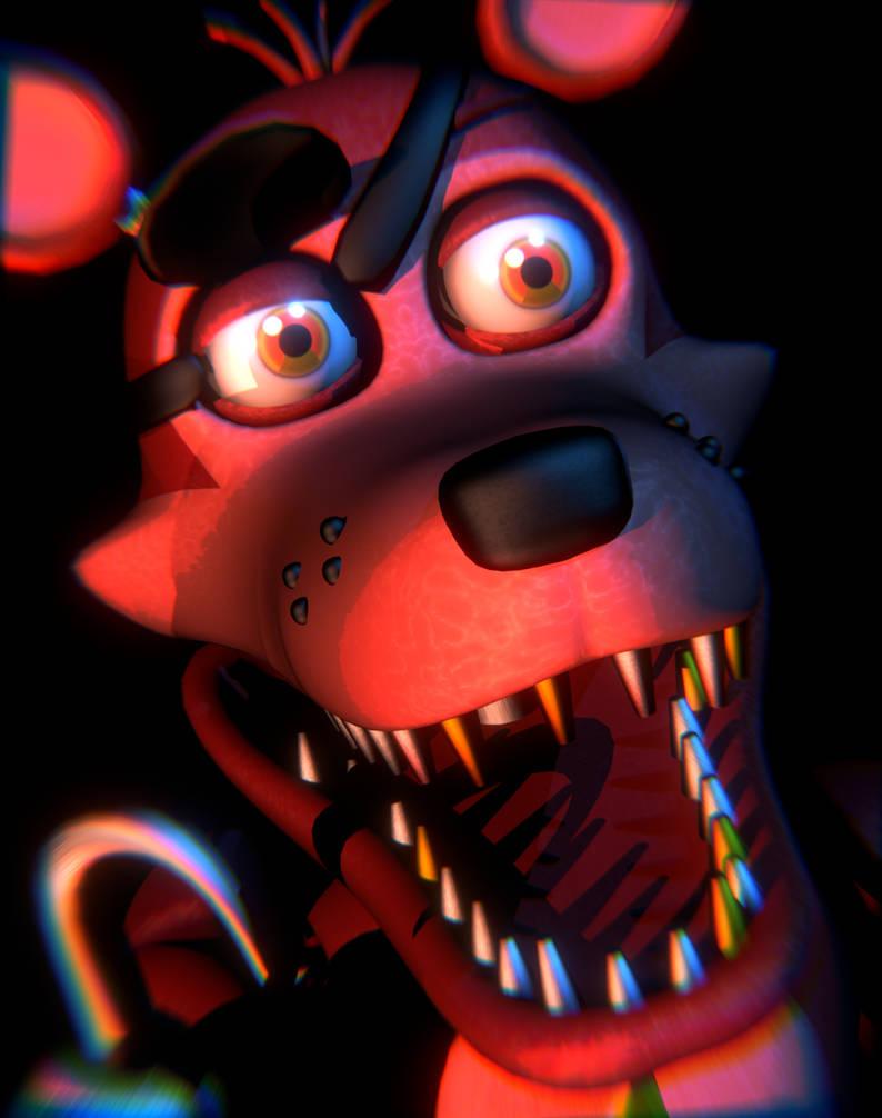 FNAF:Pizzeria Simulator] The Rockstar Foxy Icon by MangoISeI on