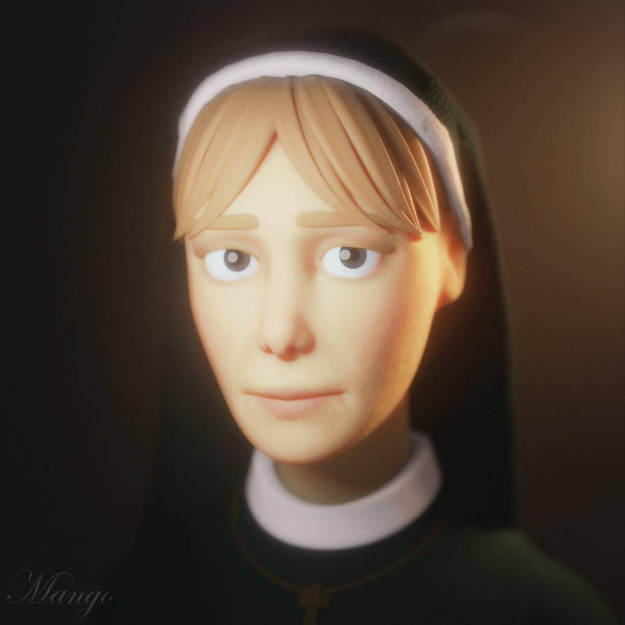AHS:ASYLUM] Mary Eunice by MangoISeI on DeviantArt
