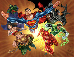 The Classic Justice League