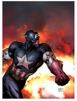 Captain america by JUANCAQUE
