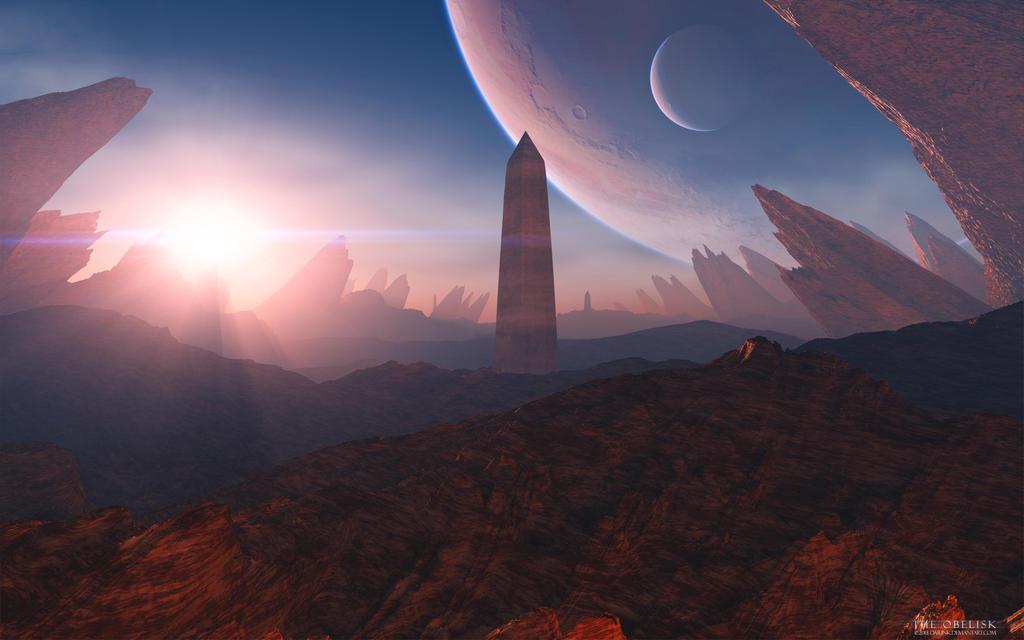 The Obelisk by DarinK