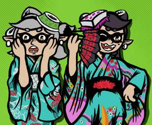 Kimono My Squid