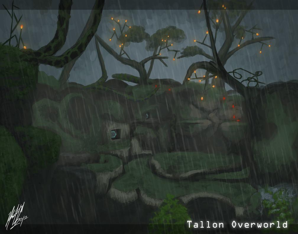 Tallon Overworld BG practice by Pandamarium