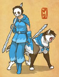 Oina Warrior Mari