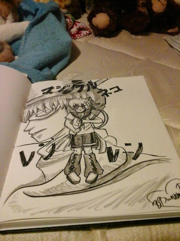 Magical Kitty Len Len by BubblyBunnyBash