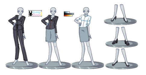 Womens Business Suits 1 +NEW+ by BubblyBunnyBash