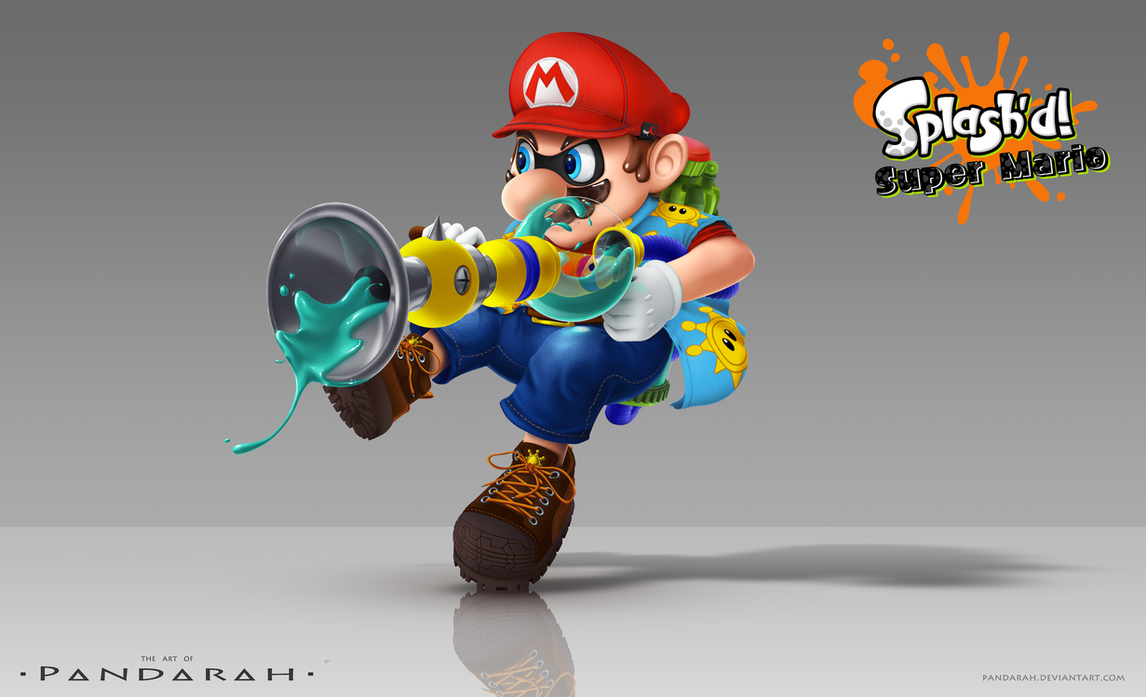 Super Mario Splash D By Pandarah On Deviantart